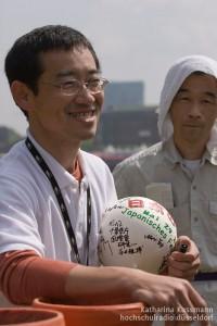Hideki Takayasu erzählt vom Hanabi in Japan