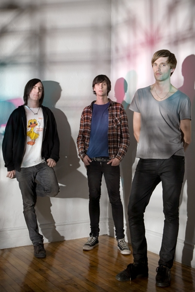Die australische Pop-Band Cut Copy.